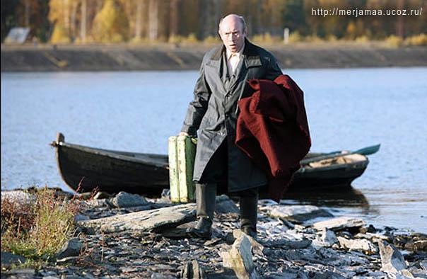 Виктор Сухоруков сыграл в «Овсянках» роль отца Аиста – мерянского поэта-самоучки.